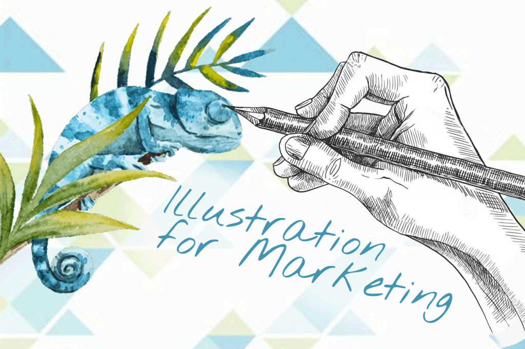Illustrations and Infographics for marketing materials